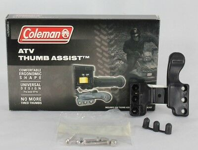 Thumb Throttle Extender ATV 4 Wheeler Coleman Comfort Assist Mad Dog Cruise Kit