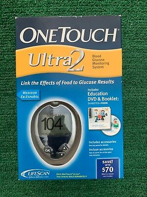 Lifescan One Touch Ultra 2  Blood Glucose Meter /monitoring System - Nib