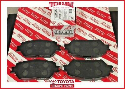 2002-2006 Toyota Camry Front Brake Pads Genuine Oem New 04465-Az106