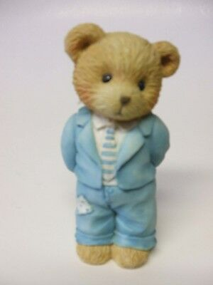 Cherished Teddies - A Father is the Barer of Strength - 1993 Priscilla Hillman