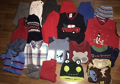 8bb156295d38 BABY BOYS FALL Winter Clothes Sz 18-24 Months Lot Of 21 -  22.00 ...