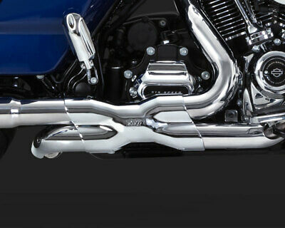 NEW VANCE & Hines Chrome Crossover Exhaust Heat Shield for