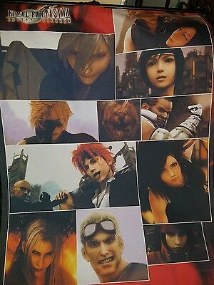 Final Fantasy vii advent children wall scroll