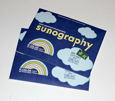 Sunography Make Color Prints With Sunlight  x2