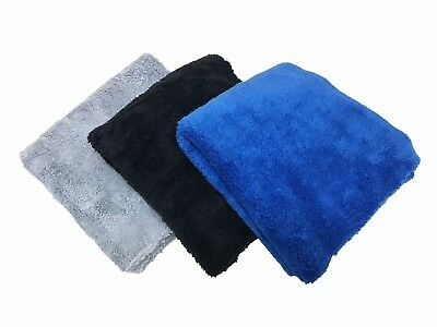 24 Pack Premium 16x16 Microfiber Edgeless Towels 500GSM Auto Detailing/Cleaning