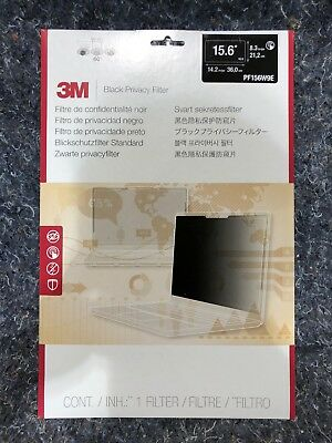 "3M Privacy Filter for Edge-to-Edge 15.6"" Widescreen Laptop (PF156W9E)"