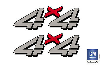 99-06 GMC Sierra 4x4 decals stickers truck bed side set full color F