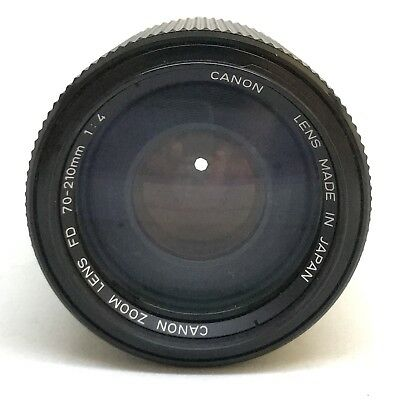 Canon FD 70-210mm F/4.0 Manual Focus Telephoto Zoom Lens 35mm Film Camera OFFER2
