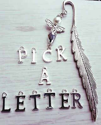 NEW PERSONALISED GUARDIAN ANGEL  12cm  BOOKMARK CHARM  NOVELTY GIFT PRESENT