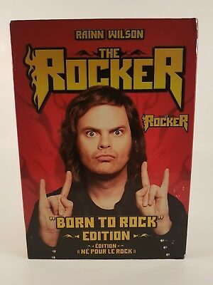 THE ROCKER - BORN TO ROCK EDITION (BILINGUAL) (DVD) Factory Sealed with Sleeve