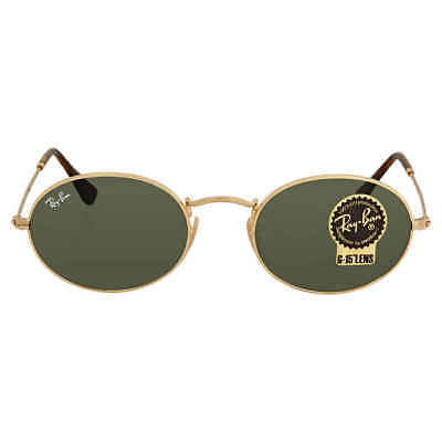 2741cfbcf7 Ray Ban Green Classic G-15 Oval Sunglasses RB3547N 001 51 RB3547N 001 51