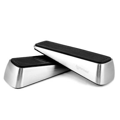 Set of 2 Door Stopper, Heavy Duty Wedge and Doesn't Budge