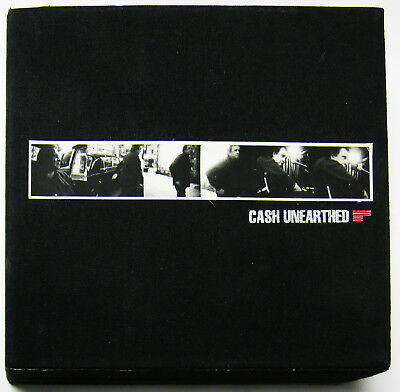 Johnny Cash Unearthed 5CD Ltd Ed Box Set 2003 NEAR MINT discs