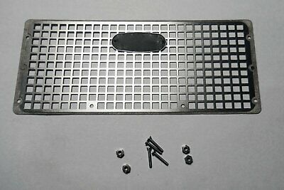 Metal Grille Front Guard Body Part For RC4WD G2 Land Rover D90 Car Crawler Black