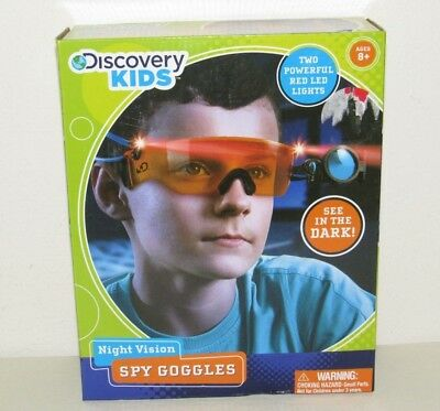 Discovery Kids Night Vision See in the Dark Spy Gear SPY GOGGLES