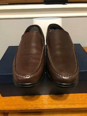 741c781cf81 COLE HAAN MENS SANTA BARBARA TWIN GORE LOAFER - DARK ROAST 11W-Used ...