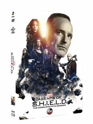 Marvels Agents of S.H.I.E.L.D. Shield Season 5 (DVD) SAME DAY SHIP 1-3 DAY MAIL
