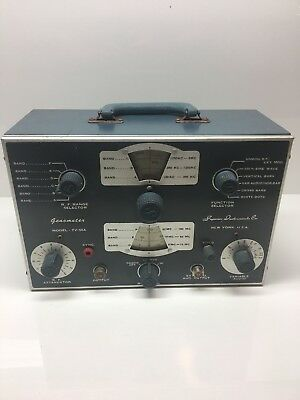 Vintage Superior Instruments Genometer  Model TV-50A signal generator