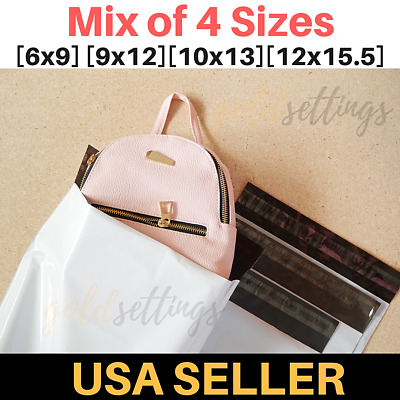 Mix Poly Mailers Bags Combo Envelopes Shipping Mailing Self Sealing Bag 2.5 Mil