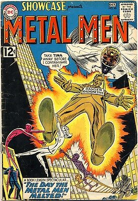 Showcase #40 1962 Vg- 4Th Appearance Of The Metal Men