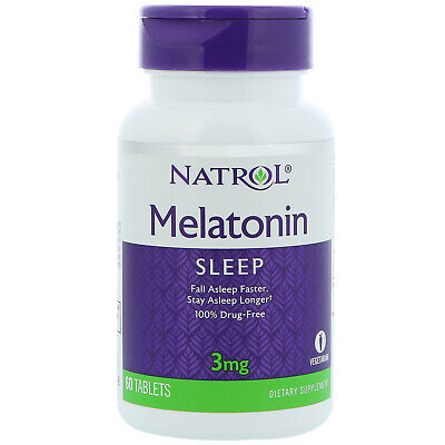 NATROL MELATONIN 3 mg 60 Kaps.