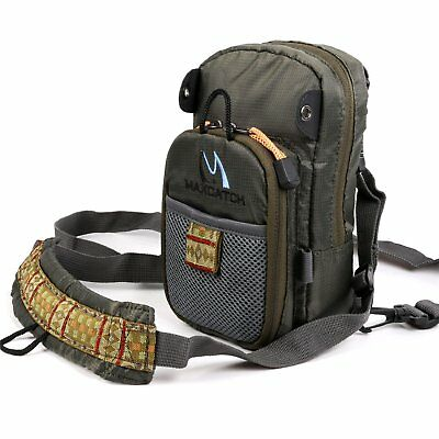 Sports Fishing Fly Fishing Chest Pack Bag/Outdoor Pack Adjustable Mutil-Pocket