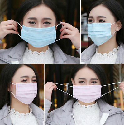 20PCS Disposable Medical Dental Mouth Face Mask Dust Respirator Health Care