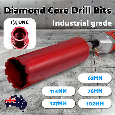 PPAP 5 Size Diamond Core Drill Bit Concrete Hole Cutter - 63,76,102,114,127mm OZ
