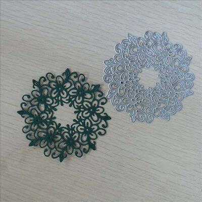 Hollow Flower Carbon Steel Cutting Die Stencil Embossing DIY Scrapbooking Crafts