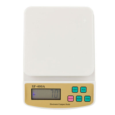 Digital Kitchen Scale 22lb Electronic LCD Screen Mail Letter Postage Shipping