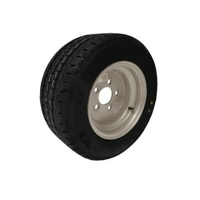 10 Inch Trailer Wheel and Tyre 195/55R 10C 96N 5 Stud 112mm PCD Silver