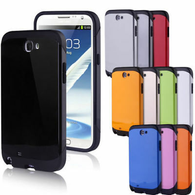 Shockproof Heavy Duty Armour Hard Back Case Cover Screen Film For Samsung Galaxy