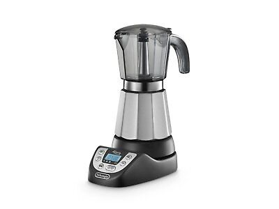 DeLonghi Alicia Plus EMKP 63.B Cafetera Moka Independiente Electrica cafe 6 Taza