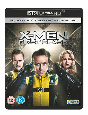 X-Men: First Class (4K Ultra HD) Michael Fassbender, James McAvoy, Kevin Bacon