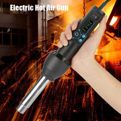 8858-I 220V 650W 100-480℃ LED Digital Adjustable Electric Hot Air Gun Heat Gun