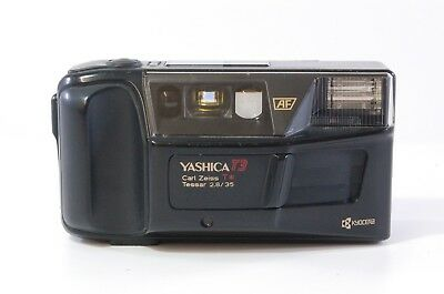 Yashica T3 Carl Zeiss T* Tessar 35mm F2.8 Ref. 89182