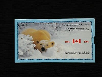 2 - 1986 Ottawa Canada Canadian $2 Two Dollar Bill Notes GEM CU in Folder
