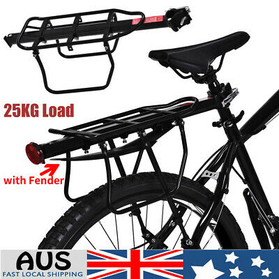 Improved 25KG Bike Rear Rack Seat Post Pannier Luggage Carrier Bicycle Cycling