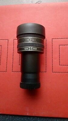 Telescope eyepiece 1.25 Super Wide Angle 2.5 mm Focal Length Unused Boxed