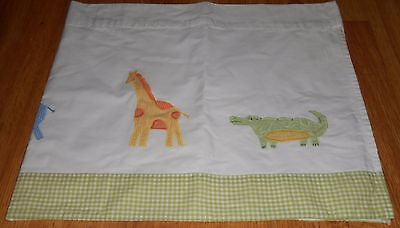 Pottery Barn Kids FROG ELEPHANT GIRAFFE CHICKEN ALLIGATOR Window Valance PBK