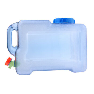 Outdoor Camping Water Container Carrier Bottle Plastic Jerry Can With Water Tap