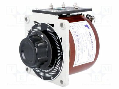 Variable autotransformer; 230VAC; Uout:0÷260V; 2.8A; 3.3kg [1 pcs]