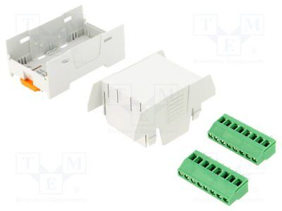 Enclosure: for DIN rail mounting; Y:75.4mm; X:45mm; Z:53.5mm; ABS [1 pcs]