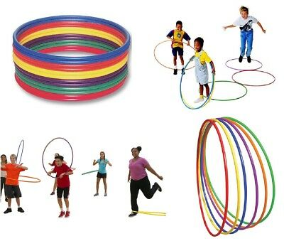 Plastic Hula Hoops Kids Adult Fun Twist Playing Fitness Exercise Yoga Gymnastic