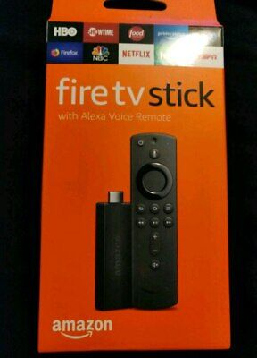 Amazon Fire TV Stick 2nd Gen with Alexa Remote FIRESTICK NIB WORLDWIDE SHIPPING