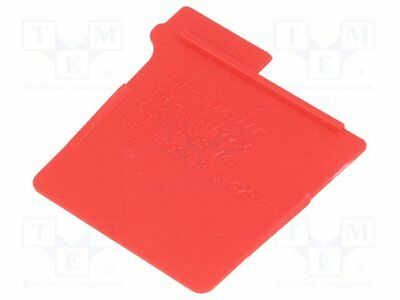 Dividers for bins; red; Works with: NB-DR12A, NB-DR15A [1 pcs]