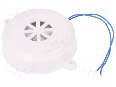Sound transducer: piezo alarm; 3.5kHz; Sound level: 110dB; 90nF[1 pcs]
