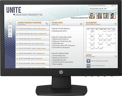 "HP V197 computer monitor 47 cm (18.5"") WXGA LED Flat Black - V5J61AT#ABU"