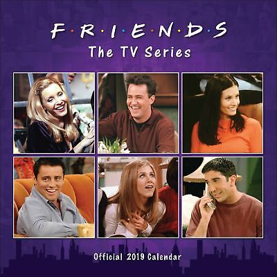 Friends Official 2019 Wall Calendar Square New & Sealed