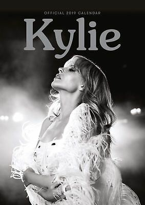 Kylie Official 2019 Wall Calendar A3 New & Sealed Kylie Minogue